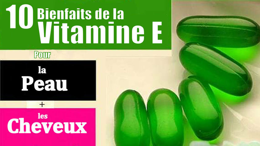 bienfaits de la vitamine E