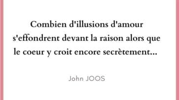 illusions d'amour